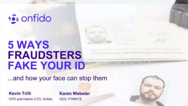 5 Ways Fraudsters Fake IDs and how your face can stop them