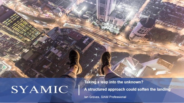 SIAM: Taking a leap into the unknown? Take a Structured Approach