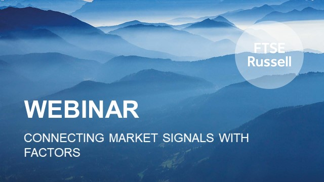 Connecting Market Signals with Factors
