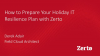 How to Prepare Your Holiday IT Resilience Plan