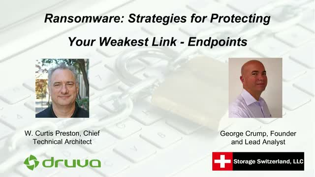 Ransomware: Strategies for Protecting Your Weakest Link - Endpoints