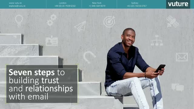 Email marketing: building trust and relationships with email