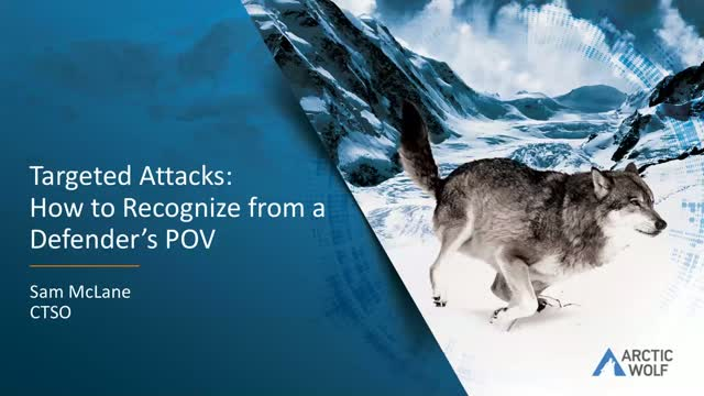 Targeted Attacks: How to Recognize From a Defender's POV