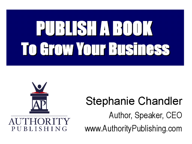 Publish a Book to Grow Your Business