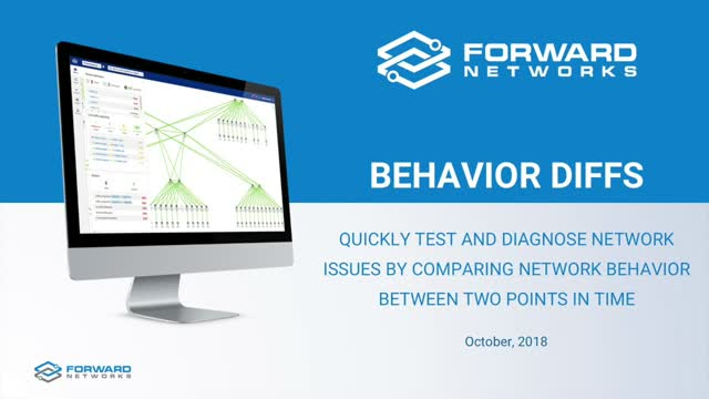 Compare Network Policies and Behavior Between Two Points in Time