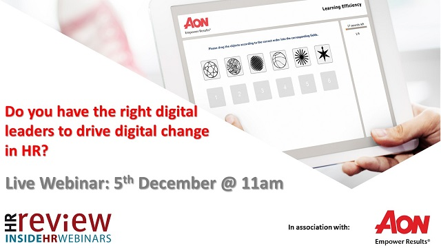 Do you have the right digital leaders to drive digital change in HR?