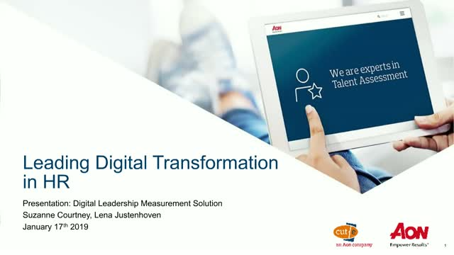 Leading digital transformation in HR: Are you ready?