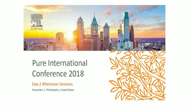 Pure International Conference- Live Afternoon Session Day 2