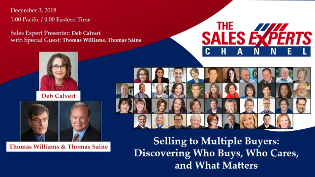 Selling to Multiple Buyers: Discovering Who Buys, Who Cares, and What Matters