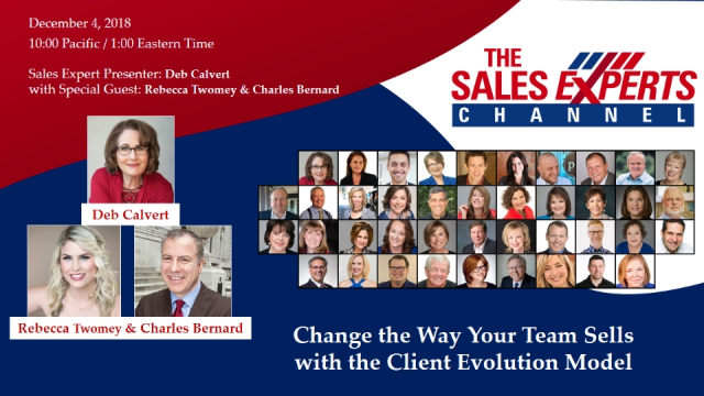 Change the Way Your Team Sells with the Client Evolution Model