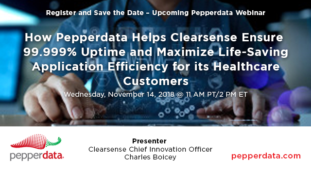 Pepperdata Helps Clearsense Ensure 99.999% Uptime and Maximize Life-Saving Apps