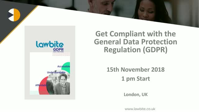 GDPR and Cyber Week