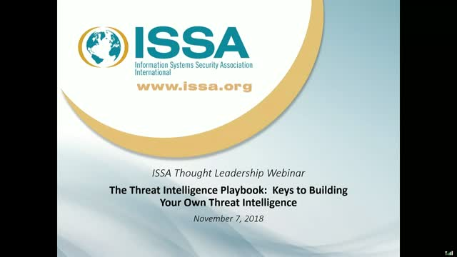 The Threat Intelligence Playbook: Keys to Building Your Own Threat Intelligence