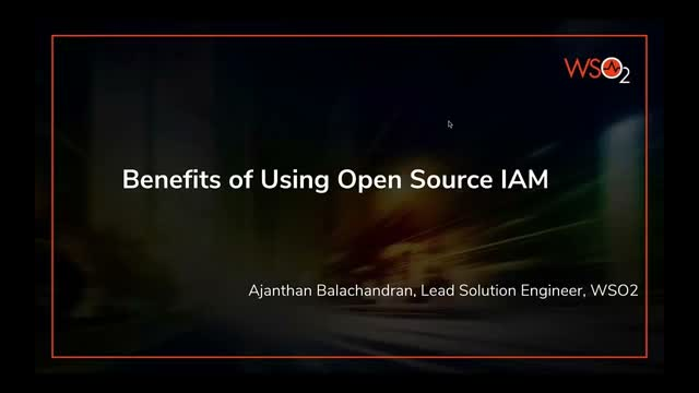 Benefits of Using Open Source IAM