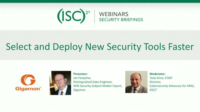 Select and Deploy New Security Tools Faster