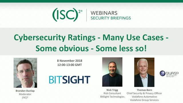 Cybersecurity Ratings Part 2: Many Use Cases - Some Obvious - Some Less So