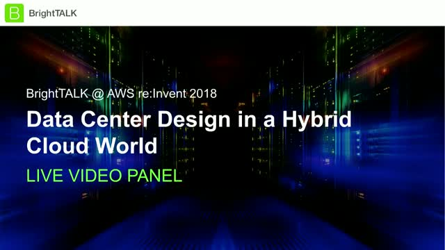Data Center Design in a Hybrid Cloud World