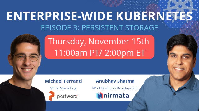 Enterprise-wide Kubernetes, Episode 3: Multi-Cloud Persistent Storage