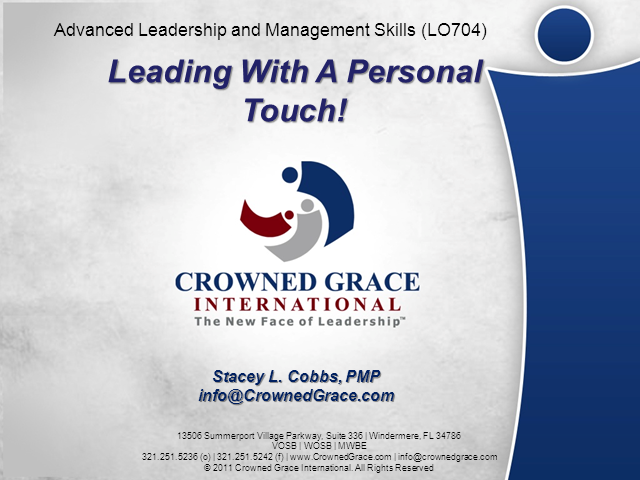 Advanced Leadership & Management Skills