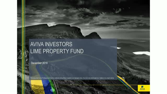 Aviva Investors Lime Fund Webinar Update