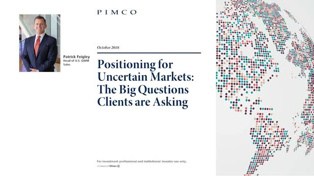 Positioning for Uncertain Markets: The Big Questions Clients are Asking