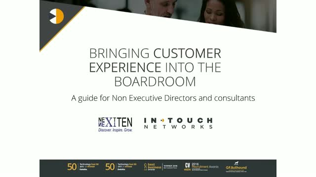 Bringing Customer Experience into the boardroom