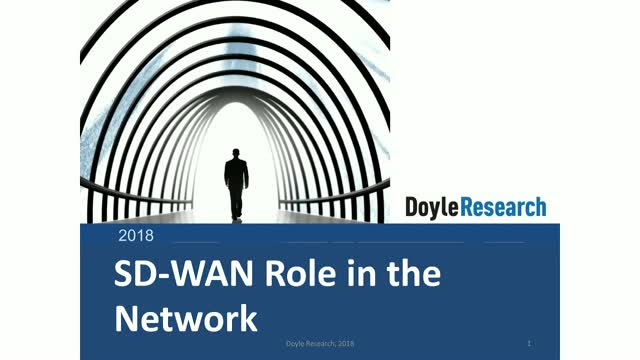 SD-WAN Becomes the Network – Business Enabler for Apps, Cloud, Network Edge