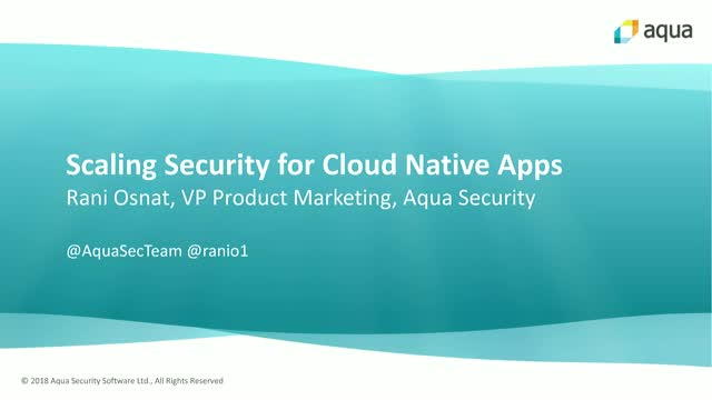 Cloud-Native Security at Scale: Multi-App, Multi-Cloud, Multi-Stack, Multi-Team