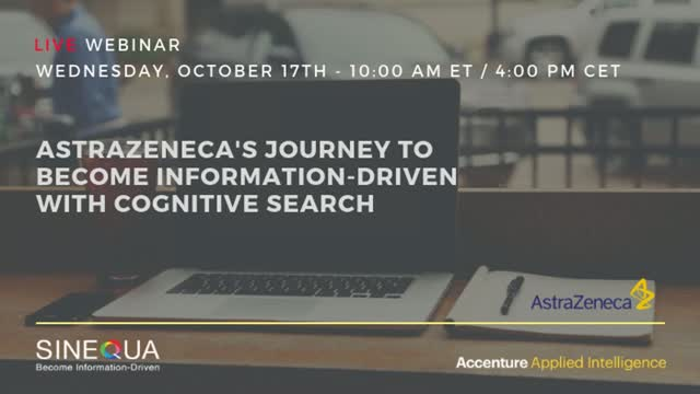 Accenture & AstraZeneca's Journey to Become Information-Driven