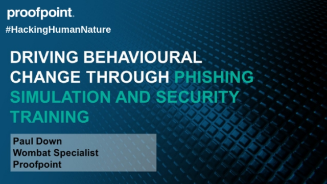 Driving Behavioural Change Through Phishing Simulation and Security Training