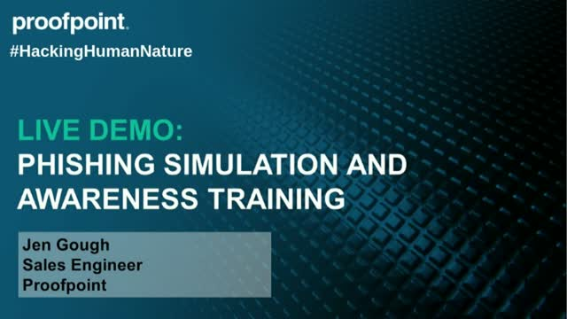 Live Demo: Phishing Simulation and Security Awareness Training
