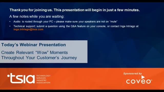 """Create Relevant """"Wow"""" Moments Throughout Your Customer's Journey"""