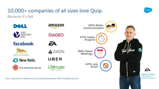 How Element 26 Uses Quip to Improve Deal Velocity & Seamless Customer Service