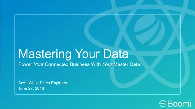 Mastering Your Data