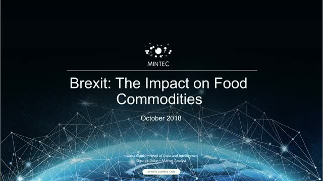 Brexit: The Impact on Food Commodities