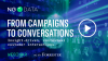 From marketing campaigns to insight-driven, contextual customer interactions.
