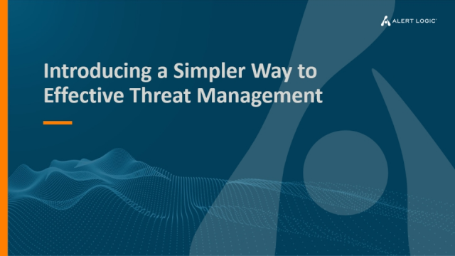 Introducing a Simpler Way to Effective Threat Management