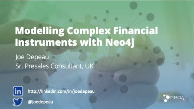 Modelling Complex Financial Instruments with Neo4j