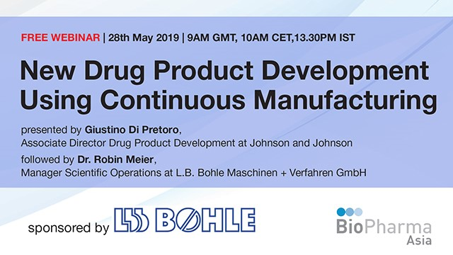 New Drug Product Development Using Continuous Manufacturing