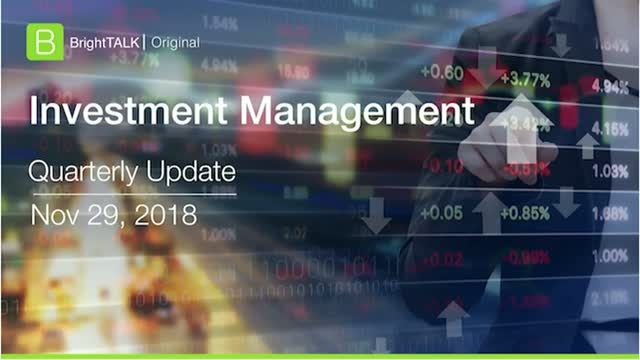 Q4 2018 BrightTALK Community Update - Investment Management