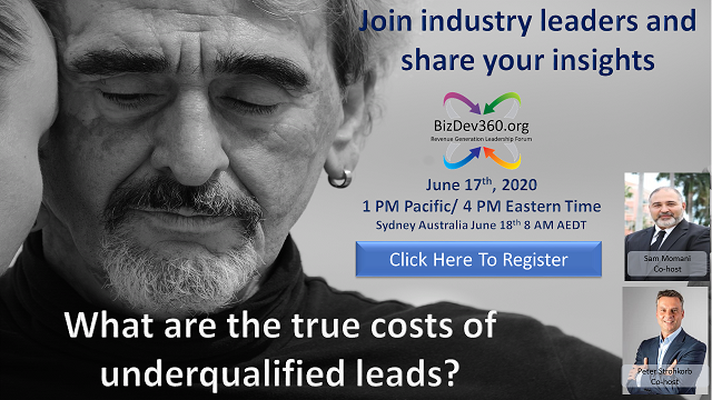 DETERMINING THE TRUE COSTS OF UNDER-QUALIFIED LEADS