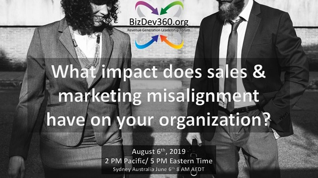UNDERSTANDING THE IMPACT OF SALES & MARKETING MISALIGNMENT