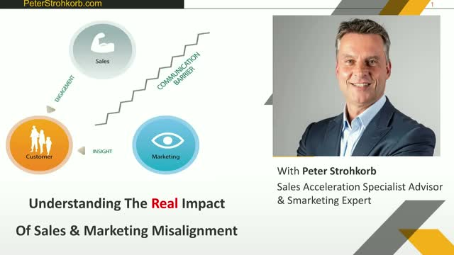 UNDERSTANDING THE REAL IMPACT OF SALES & MARKETING MISALIGNMENT
