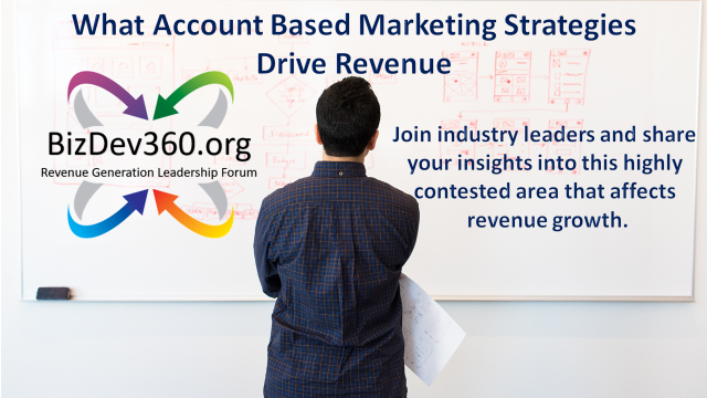 DETERMINING WHICH ABM STRATEGIES DRIVE REVENUE