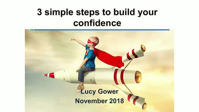 3 simple steps to build your confidence