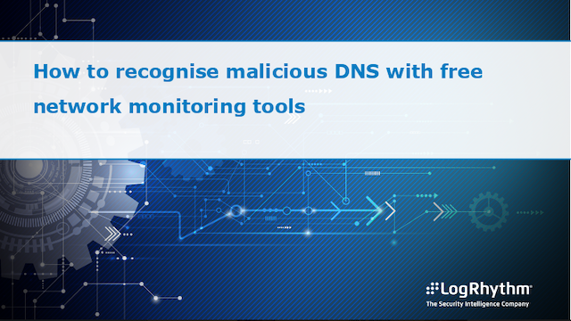 How to recognise malicious DNS with free network monitoring tools