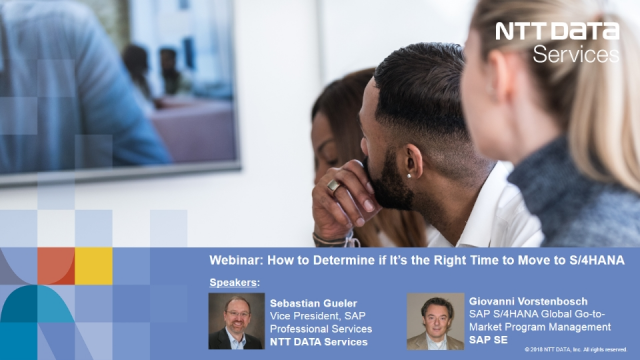 S/4 HANA 1809 – How to Determine if It's the Right Time to Move to S/4HANA