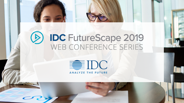 IDC FutureScape: Worldwide Chief Marketing Officer (CMO) 2019 Predictions