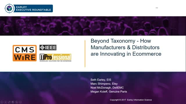 Beyond Taxonomy - How Manufacturers & Distributors are Innovating in Ecommerce