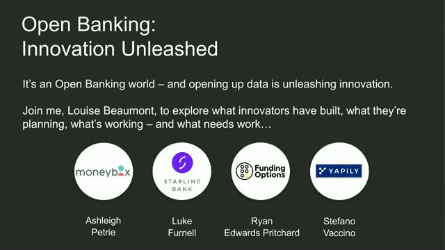 Open Banking: Innovation Unleashed